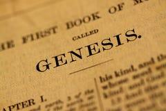 Page de bible Image libre de droits