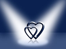 Page de cache - jour de Valentines Images libres de droits