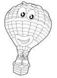Page de coloration - ballon - illustration pour les enfants illustration stock