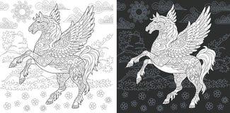Page de coloration d'imagination illustration libre de droits