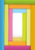Page de couverture de la joie de fond de bandes larges de livre Photos libres de droits