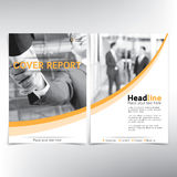 Page de couverture moderne d'affaires, calibre de vecteur illustration de vecteur