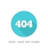 page de 404 erreurs illustration libre de droits