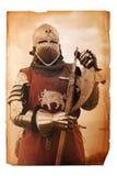 Page de l'histoire médiévale Photographie stock libre de droits