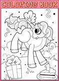 Page de livre de coloriage Photos stock