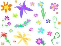 Page de mélange de durée de jardin illustration libre de droits