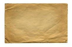 Page de papier de vintage d'isolement photos libres de droits