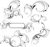 Page decoration elements Royalty Free Stock Photo