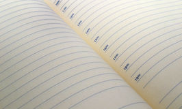 Page diary background Stock Images