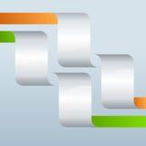 Page-disposition-présentation-calibre-conception-élément-acier Images libres de droits