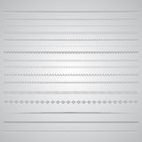 Page dividers Stock Image