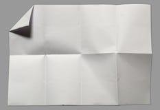 Page du livre blanc Photo stock