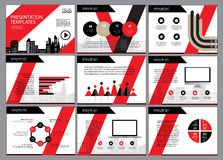 Page layout design template for presentation and brochure. Annual report, flyer page with infographic elements design Royalty Free Stock Photo