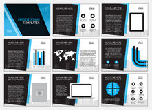 Page layout design template for presentation and brochure , Annual report, flyer page with infographic element. S design Stock Photo