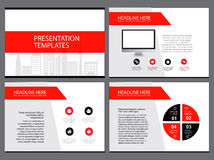 Page layout design template for presentation and brochure , Annual report, flyer page with infographic element. S design Stock Image