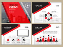 Page layout design template for presentation and brochure , Annual report, flyer page  Royalty Free Stock Photo