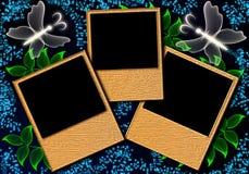 Page layout photo album Royalty Free Stock Photos