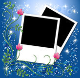 Page layout photo album Royalty Free Stock Images