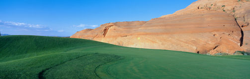 Page Municipal Golf Course Royalty Free Stock Images