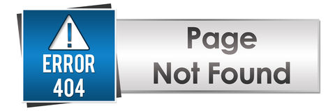 Page Not Found Button Style Stock Image