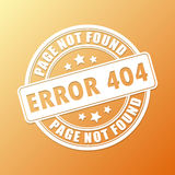 Page not found Royalty Free Stock Photography