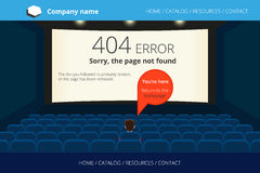 Page not found Error 404 Stock Photos