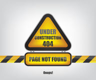 Page not found error 404. Illustration Stock Image