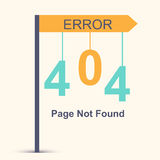 Page not found, 404 error Royalty Free Stock Photography