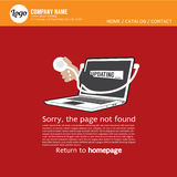 Page Not Found Error 404. Royalty Free Stock Photos