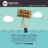 Page Not Found Error 404. Royalty Free Stock Photo