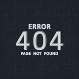 Page not found, 404 error. Error 404 - page not found. Vector illustration Royalty Free Stock Photography