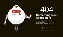 Page Not Found Error 404.Vector template. Page Not Found Error 404.Vector template Royalty Free Stock Photography