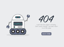 Page Not Found Error 404.Vector template. Page Not Found Error 404.Vector template Royalty Free Stock Photos