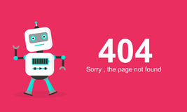 Page Not Found Error 404.Vector template. Page Not Found Error 404.Vector template Royalty Free Stock Photo