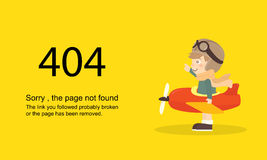 Page Not Found Error 404.Vector template. Page Not Found Error 404.Vector template Stock Photo