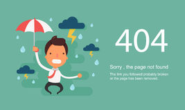 Page Not Found Error 404.Vector template. Page Not Found Error 404.Vector template Stock Photos