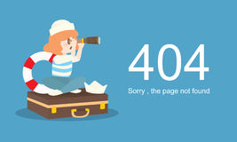 Page Not Found Error 404.Vector template. Page Not Found Error 404.Vector template Royalty Free Stock Images