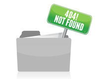 Page not found sign Royalty Free Stock Image
