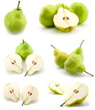 Page of pears Stock Photo