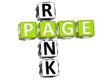 Page Rank Crossword Stock Images