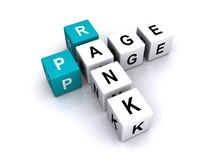 Page rank sign Royalty Free Stock Image
