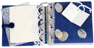 Page of Scrapbooking Album Royalty Free Stock Photos