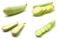 Page of squashes Stock Images