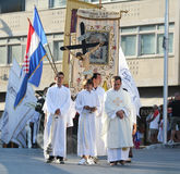 Pageantry for Assumption of Mary Royalty Free Stock Image