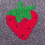 Pagefiled Strawberrie Stock Photography
