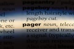pager стоковое изображение