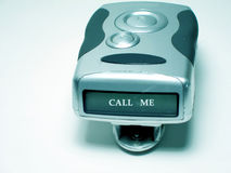 Pager. With space for message, blue tint Stock Images