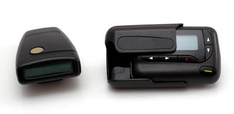Pager is communication. Stock Photography