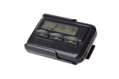 Pager isolated Royalty Free Stock Image