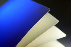 Pages. Macro of pages of a book Royalty Free Stock Photos